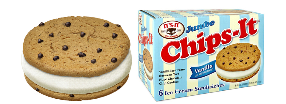 Chips-It Ice Cream Sandwich New Box